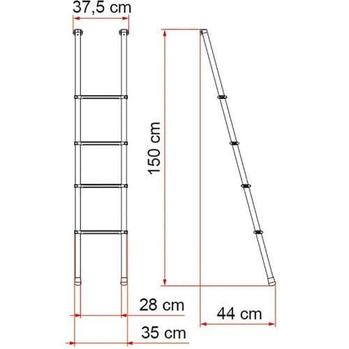 Deluxe Bunk Ladder